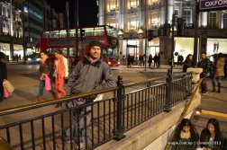 Oxford Circus Junction and Tube Station London 3