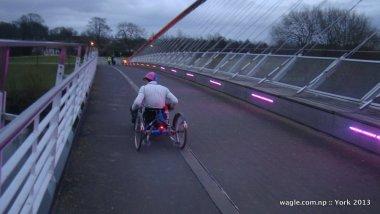 The Millennium Bridge- York River Ouse