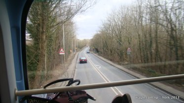 This road leads to York