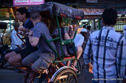 Experiencing India- foursome Ricksaw ride