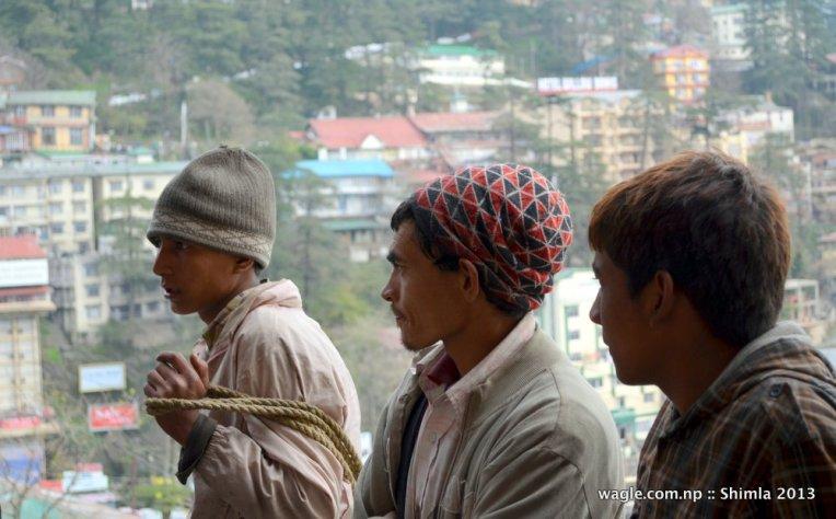 Nepali Porters of Shimla 1