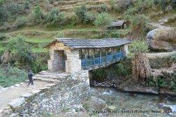 A bridge over Sani Bheri