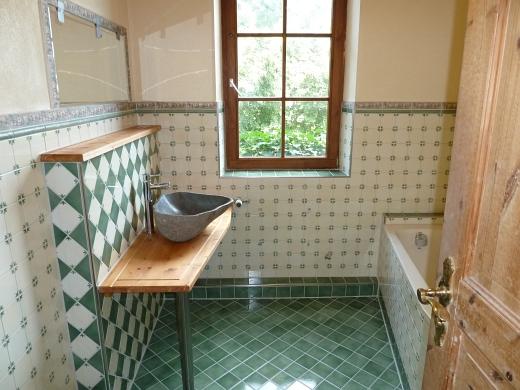 Badezimmer Landhausstil Fliesen | wohnzimmer grundriss ideen