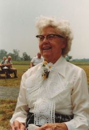 Alta B at her 83rd Birthday Celebration in 1980