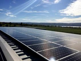 Wagner Vineyards Solar Panels