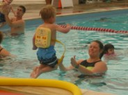 Lars 2 1/2 years - Y swim lessons