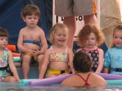 Anya 2 yrs - swim lessons