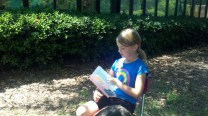 Outdoor reading