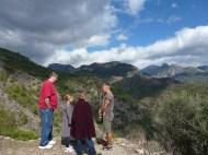 Above Frigiliana - a LONG way down