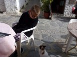 A guest joined us for lunch Pampaneira Las Alpujarras Granada Spain