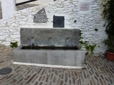 Water Fountain in The Village of Pampaneira Las Alpujarras Granada Spain