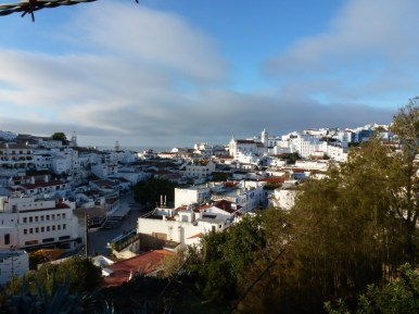 View above old town Albufeira