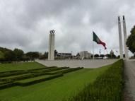 Atop Eduardo VII Park in Lisbon