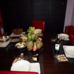 Wonderful French dinner at home