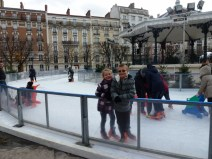 Ice Skating in Clichy