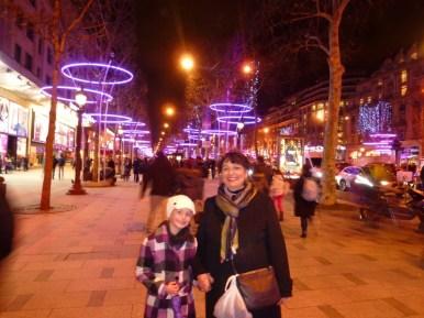 Champs-Elysées Christmas in Paris