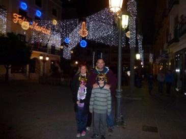 Happy New Year from Almuñécar, Spain