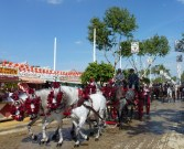 Families would parade around the grounds in carriages