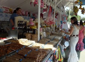 Feria de Abril - candy stall
