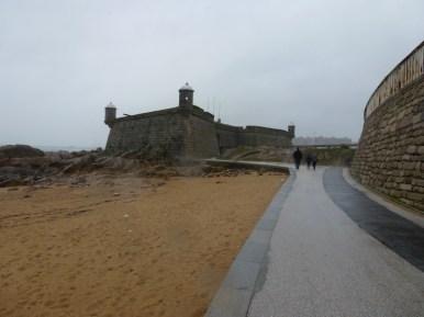 Fort on the Atlantic in Porto