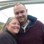 Alan and Heidi on Douro River