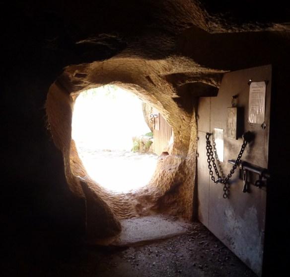 Entry door Cueva de la Pileta - Ronda