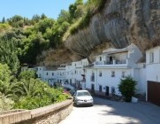 The streets of Setenil de las Bodegas