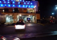 Driving on to the Spain Ferry to Italy