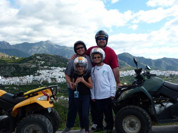 Quad Bike Tour Frigiliana Spain