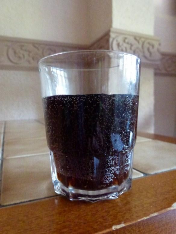 A BIG glass of Coke
