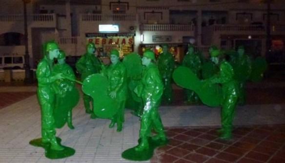 Green - Carnaval La Herradura Spain