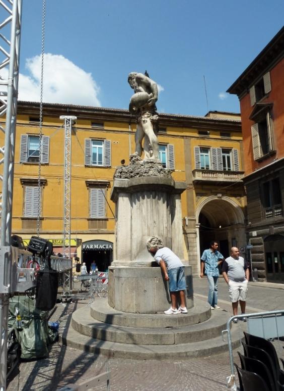 Reggio Emilia Italy Fountain