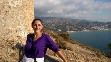 Luz in the Tower of Cerro Gordo