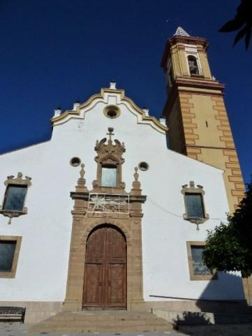 Estepona Spain - Parroquia Nuestra Señora de la Encarnación