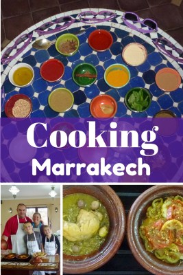Cooking In Marrakech Morocco with Faim d'Epices - far more than a typical cooking class. You have Foodie FUN & learn about typical Moroccan culture and traditions too. Read more on WagonersAbroad.com