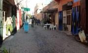 The streets of the Marrakech Medina