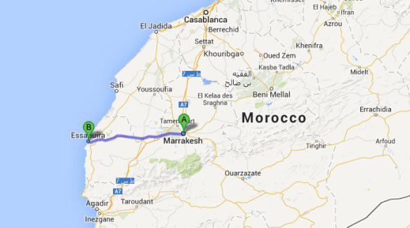Actual 1 week Itinerary in Morocco Essaouira