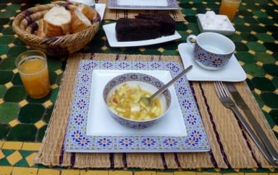 Riad Dar Limoun Amara Marrakech Breakfast