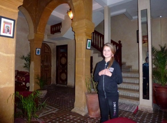Riad Inna Essaouira Lobby - Accommodation in Morocco