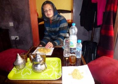 Rian Inna Moroccan Tea our room sitting area