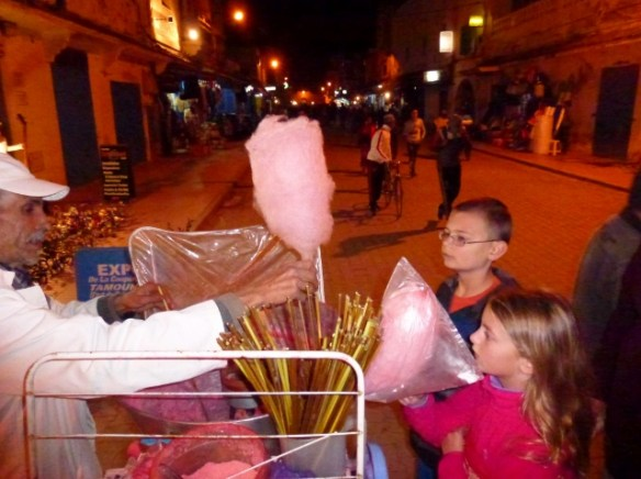 Tasting Morocco - Cotton Candy