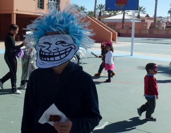 Carnaval at school Almunecar Spain 2014
