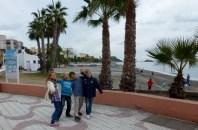 Almuñécar Spain - Anya and Friends San Cristobal Beach