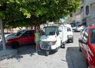 Almuñécar Spain - Around town Little Car