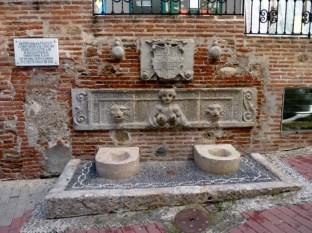Almuñécar Spain - Fountain in old town