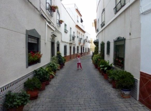 Almuñécar Spain - San Miguel Barrio Streets