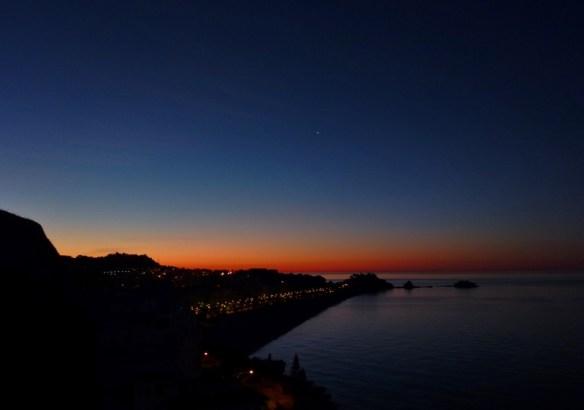 Almuñécar sunrise April 8 2014