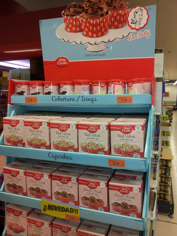 Betty Crocker Cake mix in Almunecar