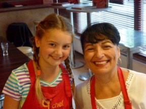Chefparade Cooking Class Budapest Hungary Anya and Grandma Linda