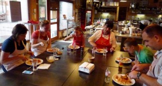 Chefparade Cooking Class Budapest Hungary - Time to Enjoy Our Meal